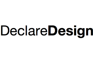 DeclareDesign: A package to help characterize and diagnose research designs